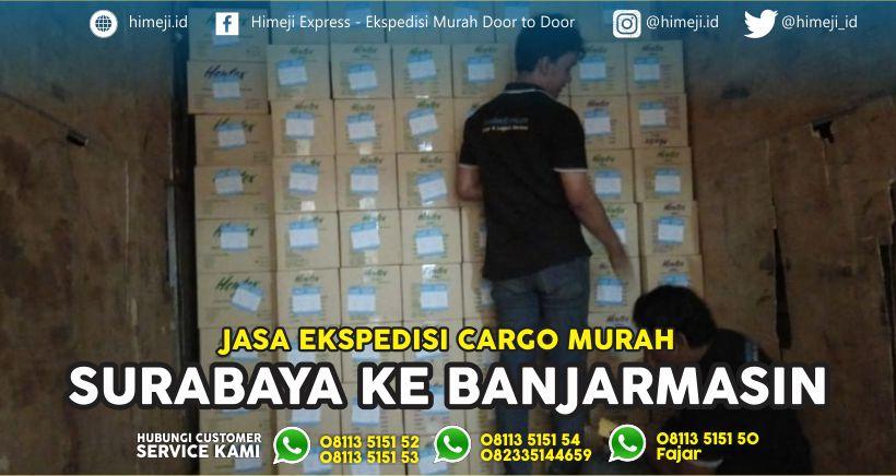 Pengiriman Barang Murah dari Surabaya ke Banjarmasin