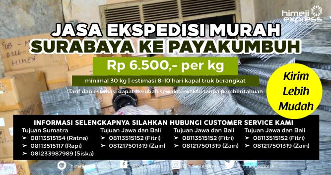 Jasa_Ekspedisi_Murah_Surabaya_ke_Payakumbuh